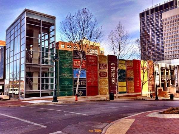 The library in downtown Kansas City is a real page turner
