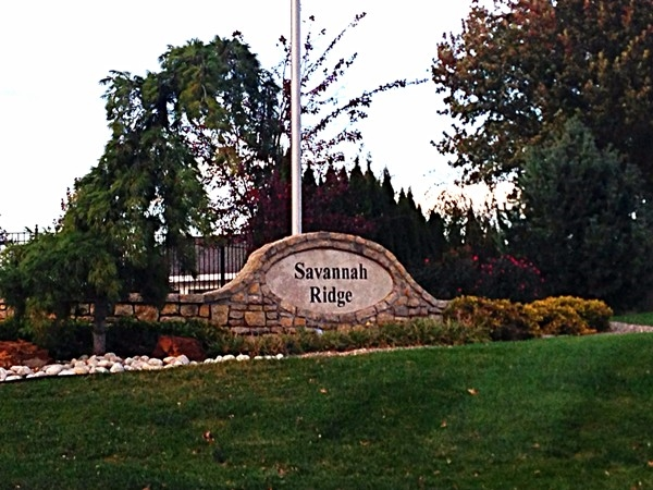 Savannah Ridge is conveniently located off Woods Chapel Road less than a mile from I-470