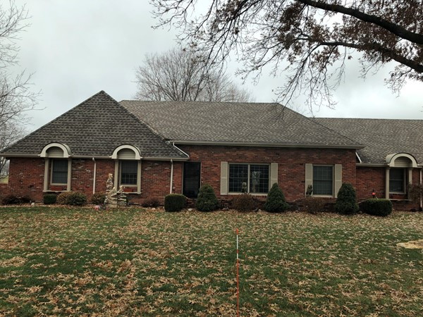 Love this brick home in Liberty Hills