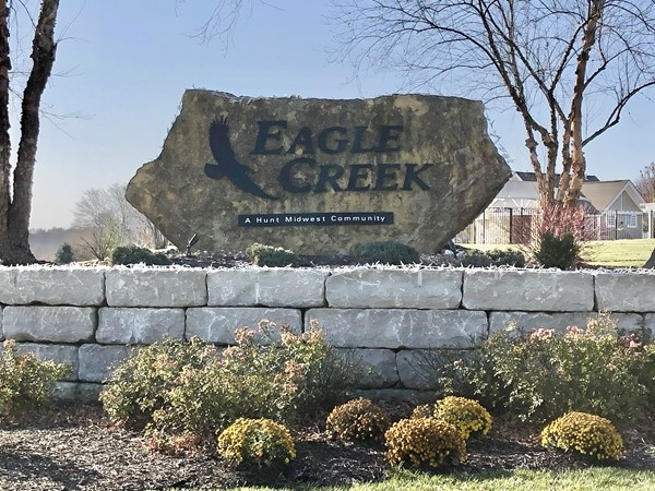 Eagle Creek ... beautiful homes, pool, walking trails, and award-winning Lee's Summit Schools