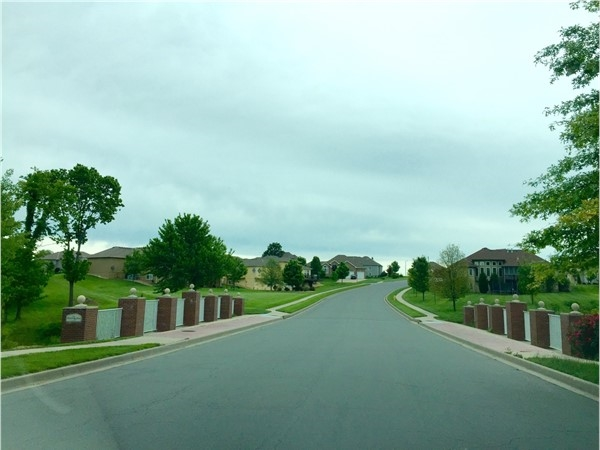 Bridge to Belmont Farms from Saddlebrook