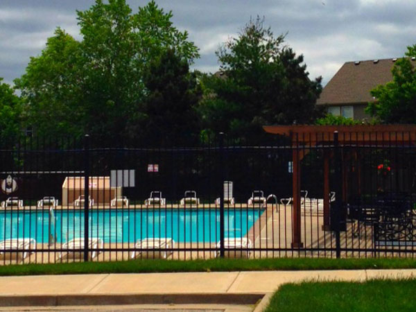 Arlington Park community pool. One of the nicest in Olathe.
