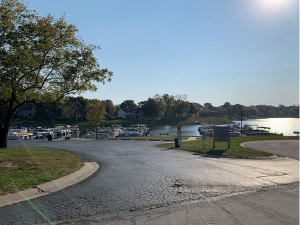 View of the lake at Lakewood