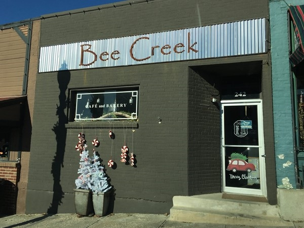 Bee Creek Cafe & Bakery- Go for lunch and latte or cappuccino