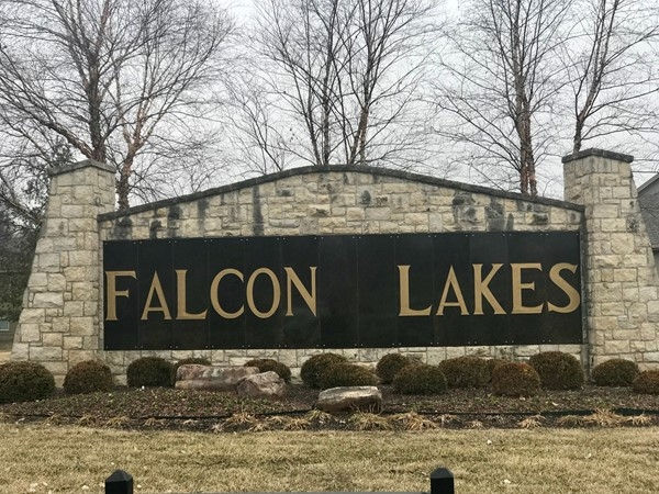 Welcome to Falcon Lakes subdivision