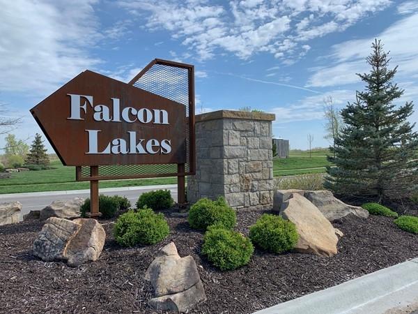 Entrance to Falcon Lakes