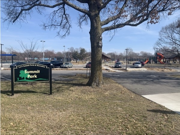 Summit Park located on NW Blue PKWY is a great place for children and grown ups to play