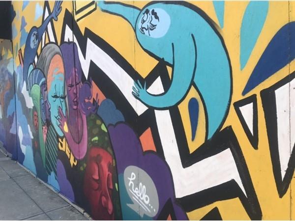 Graffiti in Midtown