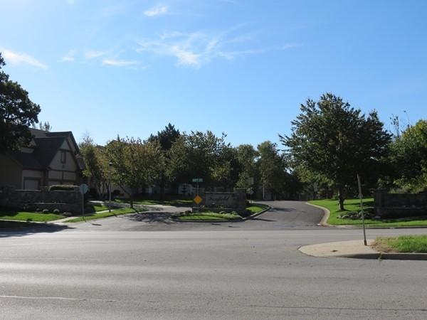 The pretty streets of Foxfield Estates