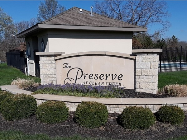 Welcome to The Preserve at Clear Creek
