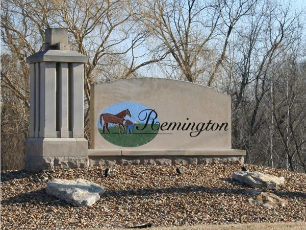 Remington Estates features newer homes priced $200K+.  Independence School District