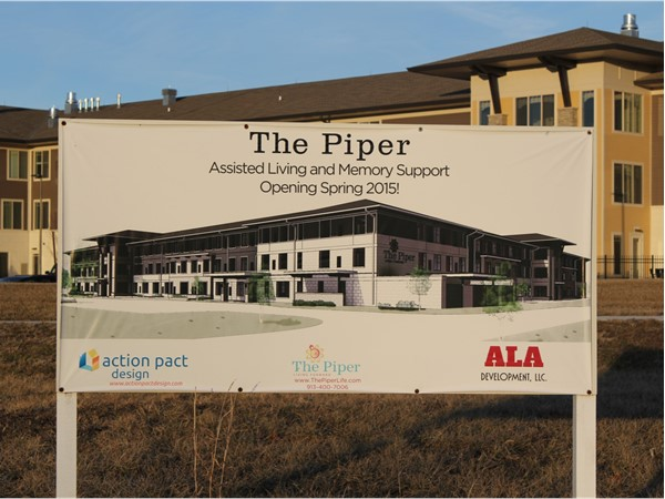 The Piper is open for business next to the Hazelwood Villas