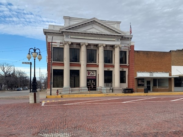 The historic Butler City Hall