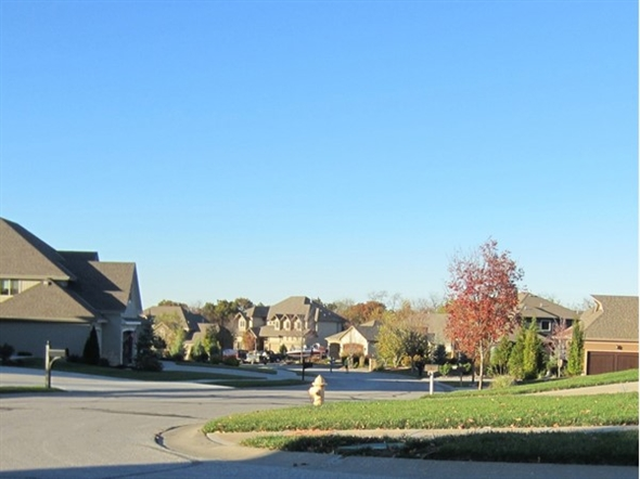 Streetview in Woodland Shores