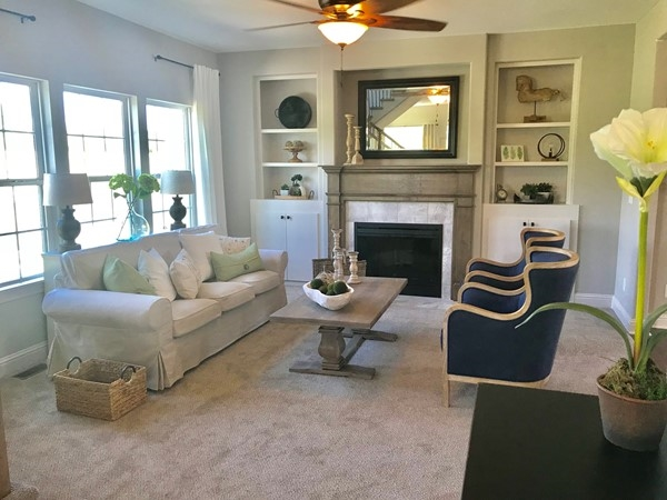 The Newberry model homes are complete and they are fabulous