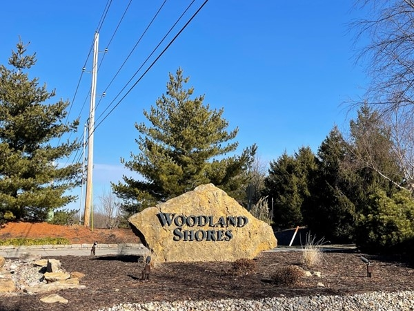 Woodland Shores is located off of Blackwell Rd in Lee's Summit, across from Legacy Park