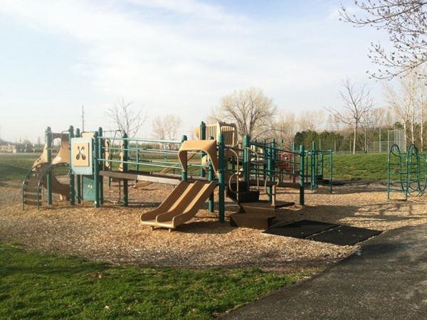 Playground at E.H. Young Riverfront Park.