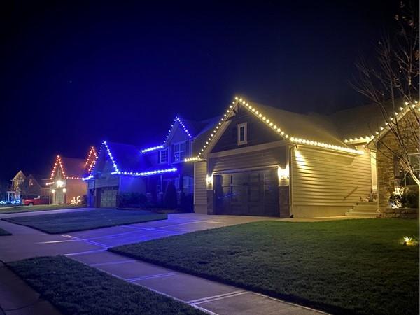 Christmas lights by Tis the Season KC