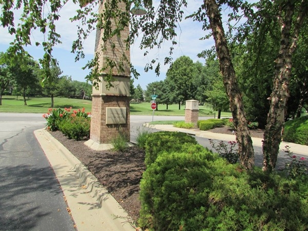 Peaceful view of Deer Creek Golf Course across 133rd Street