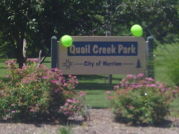 Quail Creek Park near Antioch Hills Subdivision, Merriam