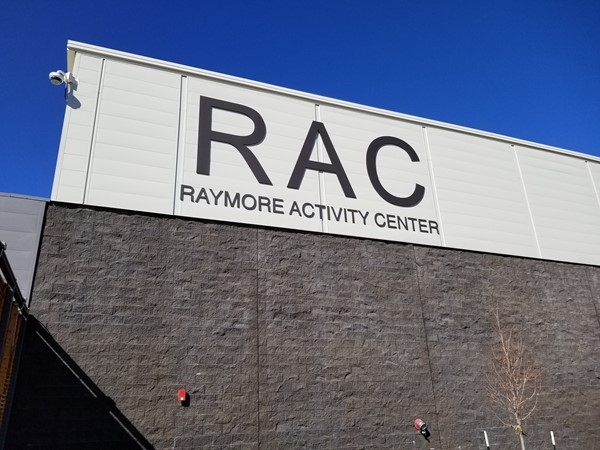 Outside of the Raymore Activity Center in Raymore