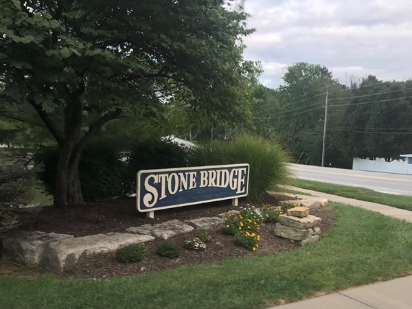 Entrance of Stone Bridge Subdivision