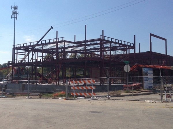 Progress on the Howard Brown public safety building