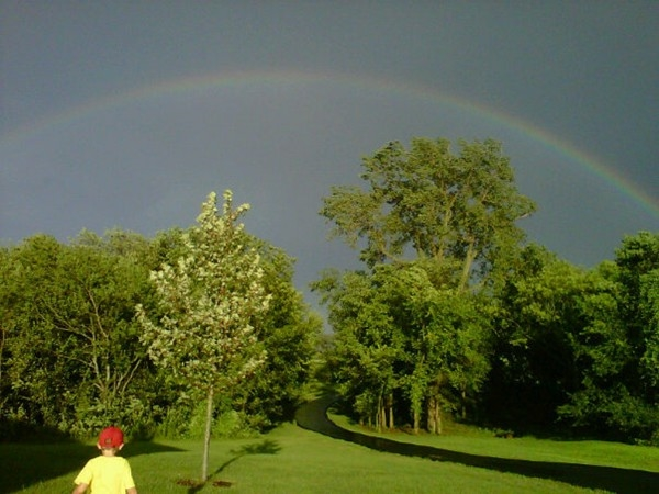 Cool Cleveland rainbow