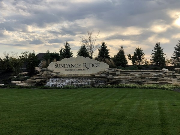 Sundance Ridge entrance in Stilwell
