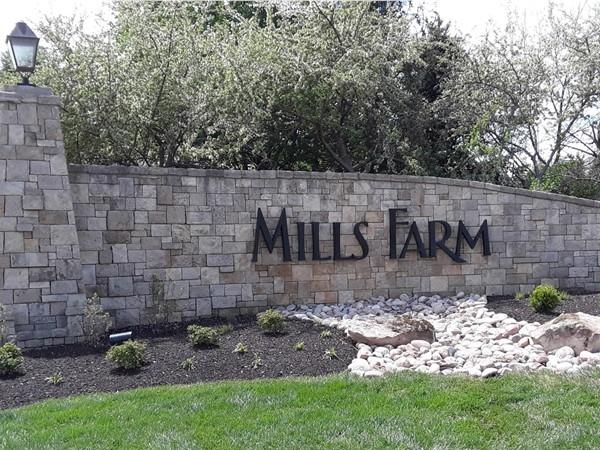 Mills Farm Community in Overland Park KS