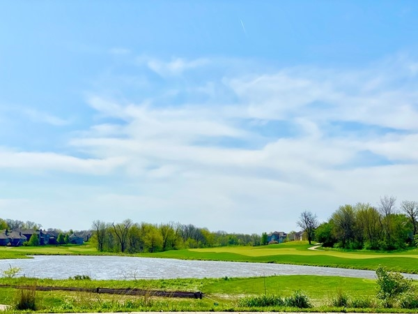 Beautiful day at Prairie Highlands Golf Course