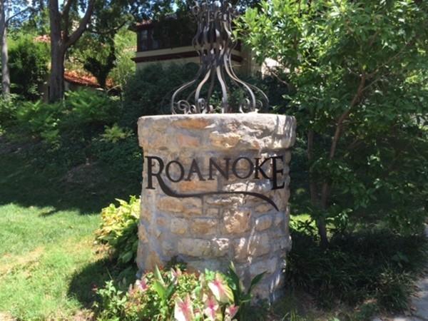 Roanoke neighborhood in Midtown area of Kansas City