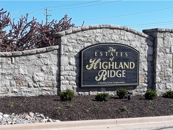 The Estates of Highland Ridge Community in Shawnee KS