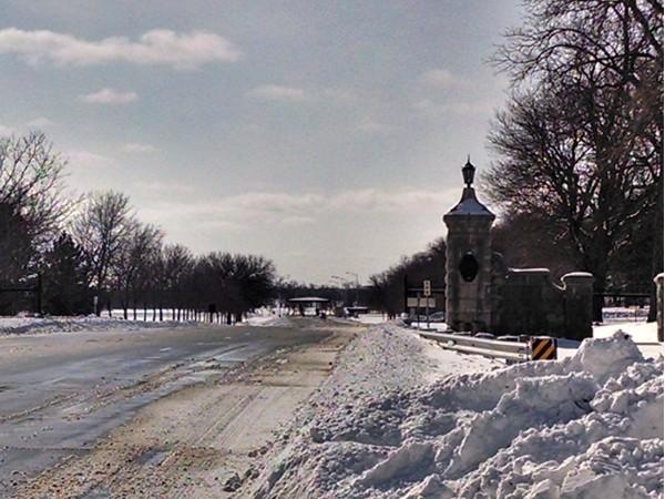 East Gate, February 2014