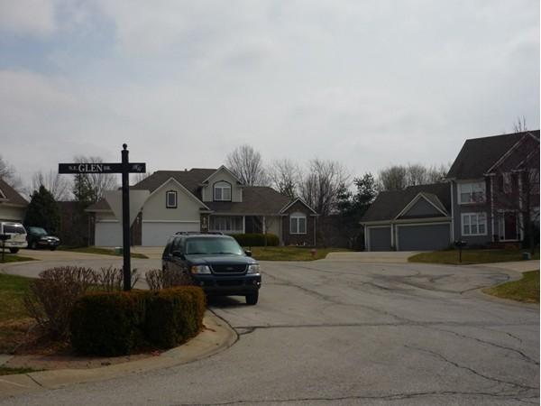 Northeast Hunters Court from Northeast Glen Drive