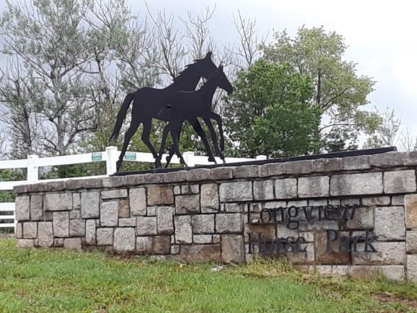 Longview has a horse park too