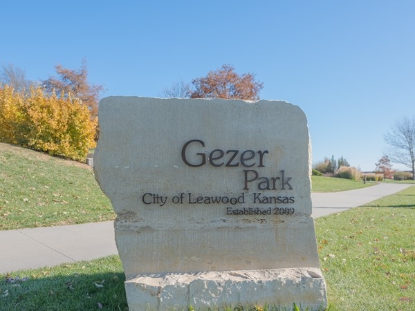 Gezer Park is directly south of Waterford