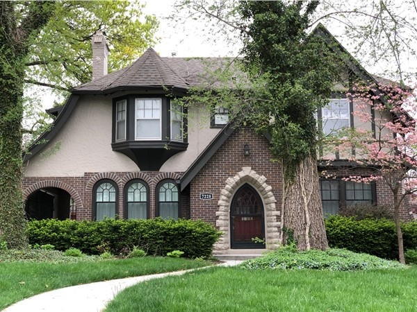 Ward Park Subdivision has many charming Tudor style homes