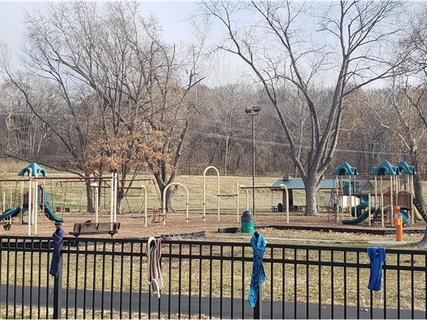 Macken Park is a great spot to play and run