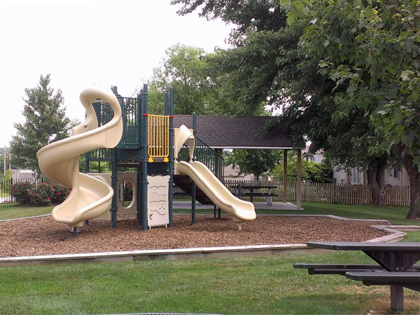 Private play area for residents and guests