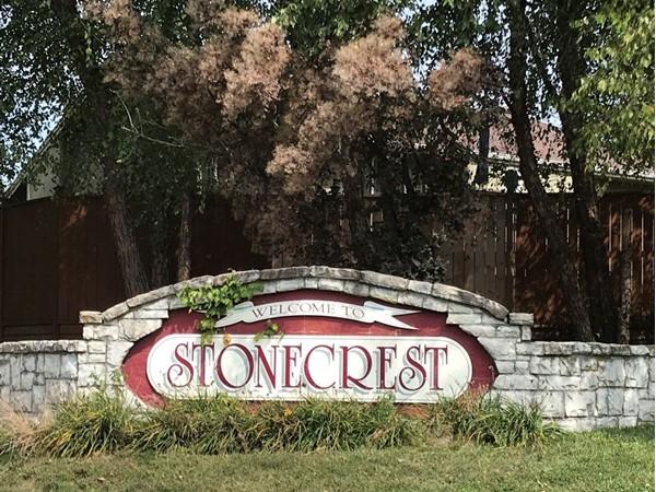 Stonecrest entrance