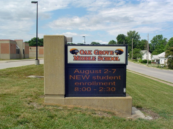 Oak Grove Middle School: Home of the Panthers