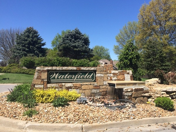 Don't miss the beautiful homes in Waterfield