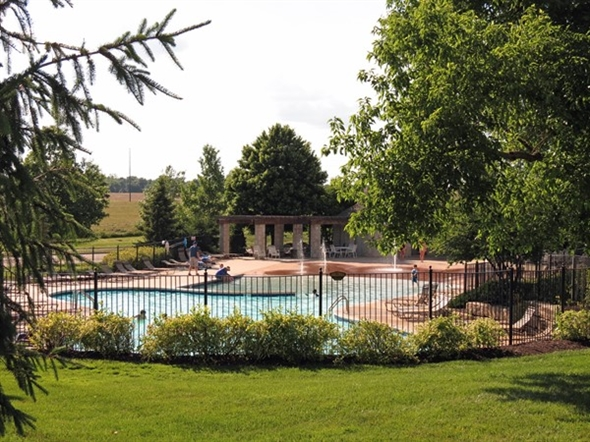 The pool at Grey Oaks is all ready for the holiday weekend