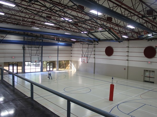 Lots of room for family activities at the Shawnee Civic Center