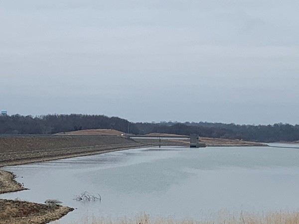 Smithville Lake in the winter