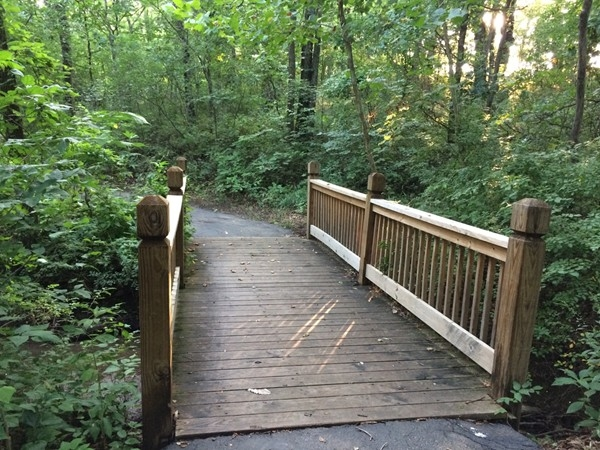 Scenic walking trail in Lakes at Oakmont