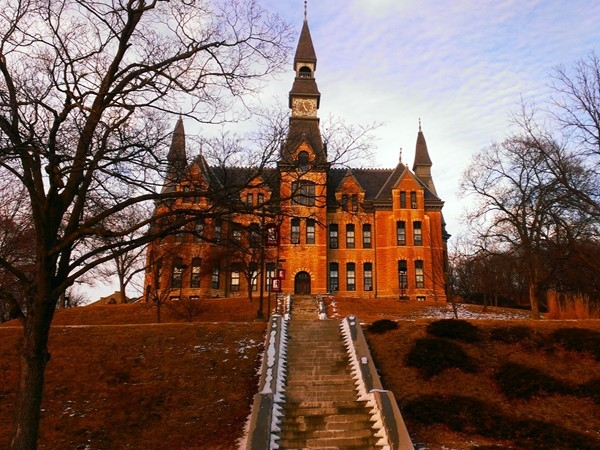Beautiful architecture at Park University