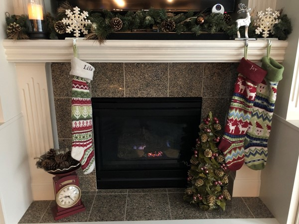 Love this time of year!  Merry and cozy by the best hood ever