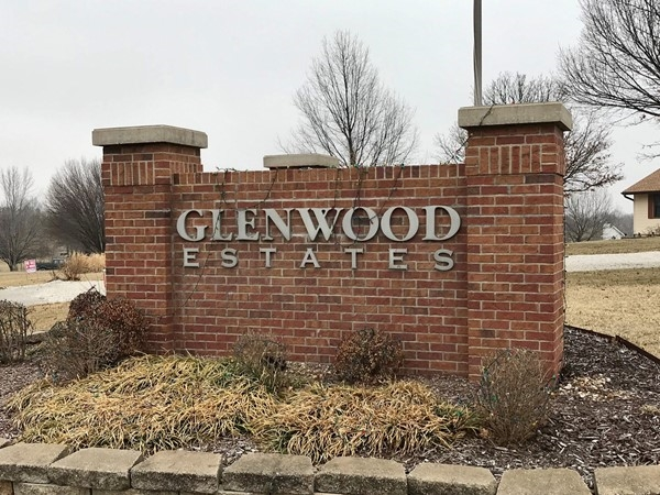 Welcome to Glenwood Estates subdivision